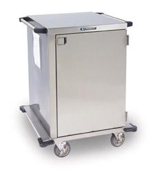 Stainless Steel Closed Cart One Door Wire Shelf Width