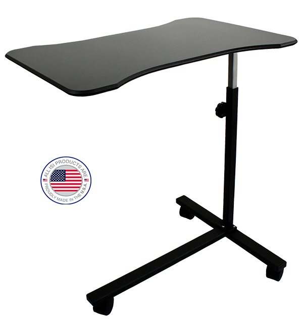 Free Standing Surgical Hand And Arm Table With Carbon