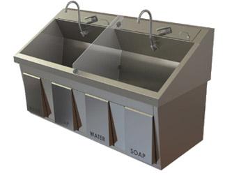 Ss64 Series Scrub Sink