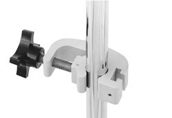 Infusion Pump Stand Accessories: Universal Clamp