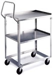 Ergo-One System Utility Cart: 2 shelf; 15-1/2
