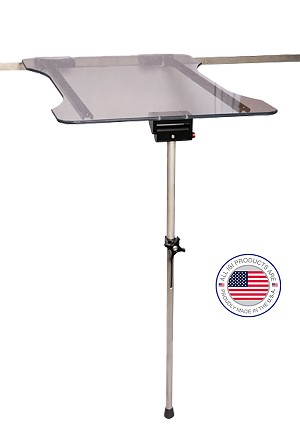 Universal K Surgical Table with Single Leg