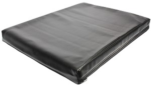 "Black Carter Table Pad Large 2"" Thick"