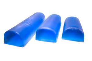 "Gel Flat Bottom Chest Roll, 6"" x 16"" x 4"""