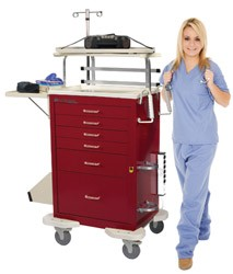 Classic Emergency Cart Accessory Package: LEP-A