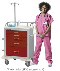 Classic Emergency Cart Accessory Package: LEP-C