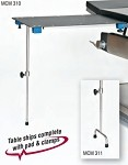 Rectangular Arm/Hand Surgery Table with Single Post leg & 2