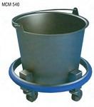 Kick Bucket/Sponge Receptacles: 14