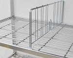 Square Post Wire Accessories: Shelf dividers 24
